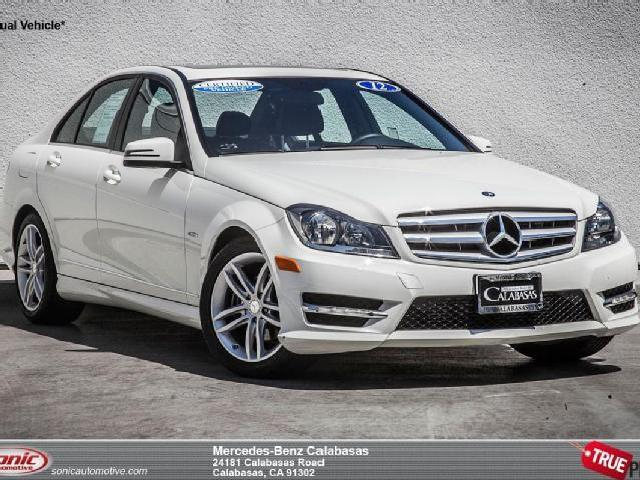 mercedes benz c class white california mitula cars