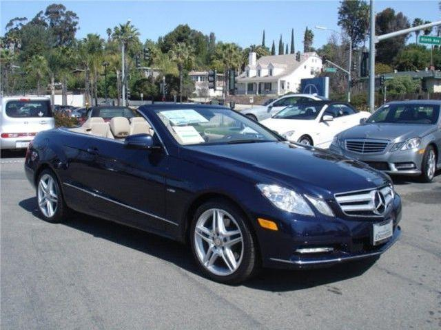 Mercedes benz e class automatic 2012 escondido mitula cars for 2012 mercedes benz e350 convertible