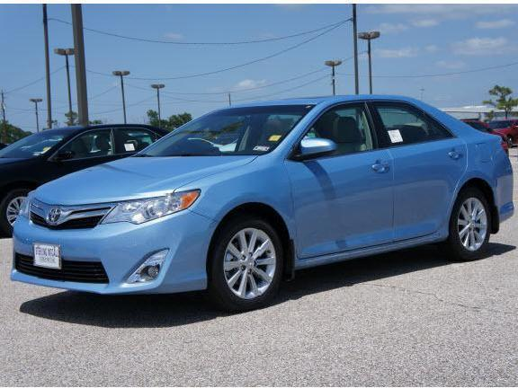 Toyota Camry Xle Blue 2012 Houston Mitula Cars