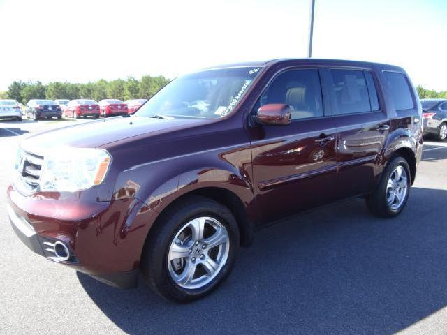 burgundy honda pilot ex l used cars mitula cars. Black Bedroom Furniture Sets. Home Design Ideas