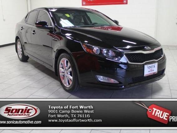 kia optima black 2013 fort worth with pictures mitula cars. Black Bedroom Furniture Sets. Home Design Ideas