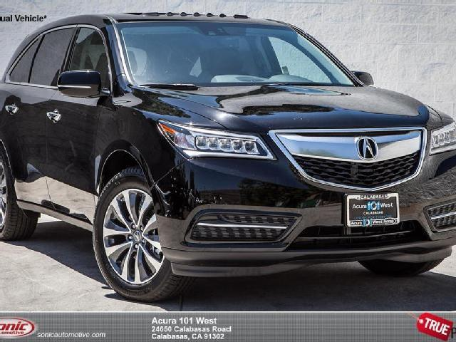 Pics Photos - 2014 Acura Mdx Tech Package Black On Black 2