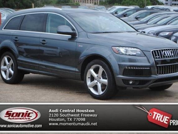 automatic transmission audi q7 used cars in houston. Black Bedroom Furniture Sets. Home Design Ideas
