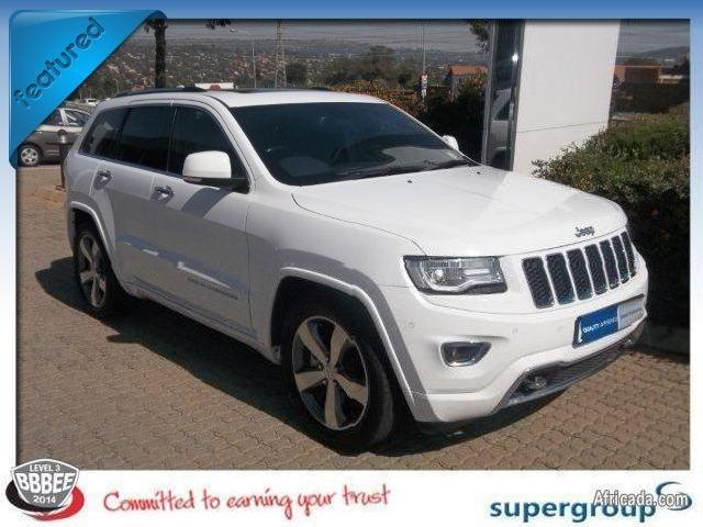 Jeep Grand Cherokee Overland In Gauteng   Used Jeep Grand Cherokee Overland  White Gauteng   Mitula Cars