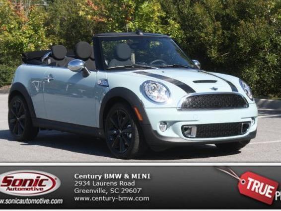 Mini Cooper S In Blue Used Ice Convertible Mitula Cars With Pictures