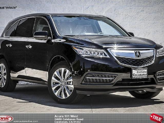 2015 acura mdx with technology package crystal black pearl. Black Bedroom Furniture Sets. Home Design Ideas