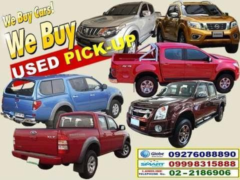 2015 we buy all brands used second hand pick up