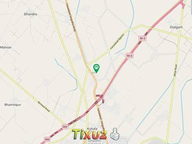 20 Marla Residential Plot For Sale In Citi Housing Society Faisalabad
