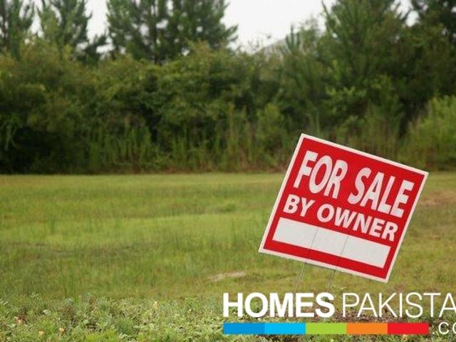 24 Marla Excellent Location Residential Plot For Sale In Aa Block Plot No 87
