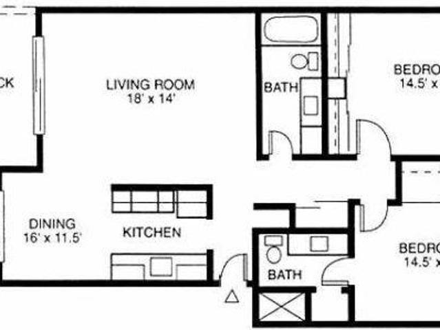$2595 / 2br 1035ft² 2 Bedroom 2 Bath Apartment In Mountain View. Call For Move In Bonus!
