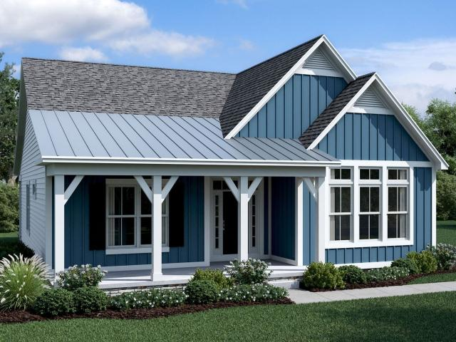 2 Bed, 2 Bath New Home Plan In Galena, Oh