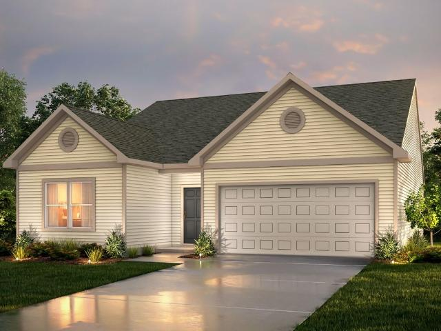 2 Bed, 2 Bath New Home Plan In Greensboro, Nc