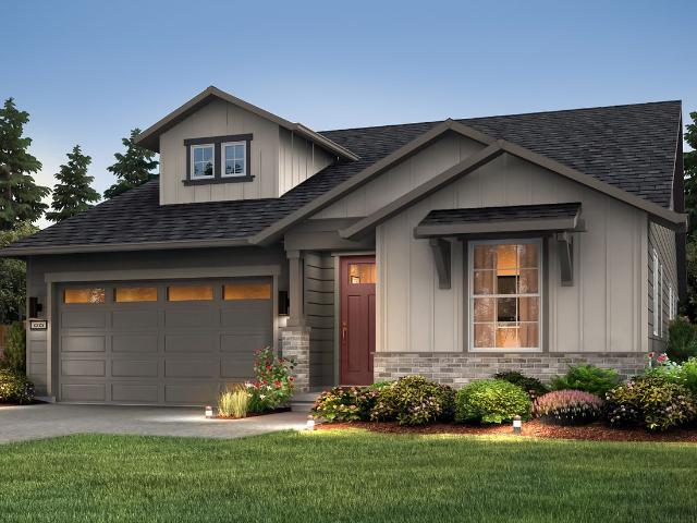 2 Bed, 2 Bath New Home Plan In Lacey, Wa