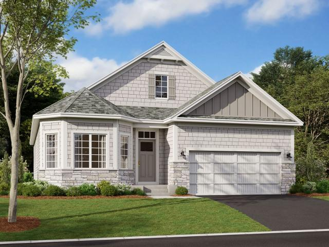 2 Bed, 2 Bath New Home Plan In Saint Michael, Mn
