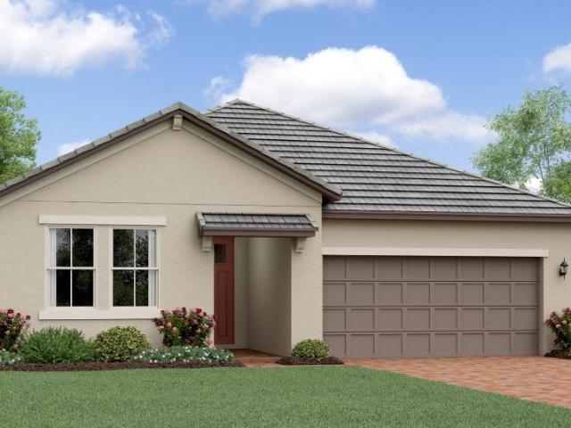 2 Bed, 2 Bath New Home Plan In San Antonio, Fl