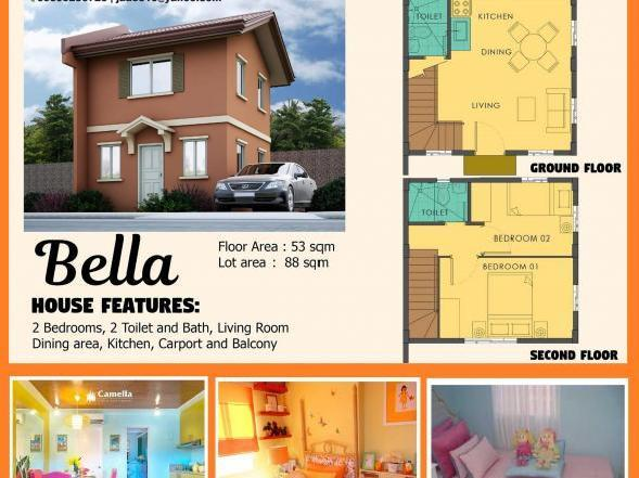 Houses In Iloilo City   2 Bedroom House Iloilo City Beautiful   Dot  Property Classifieds