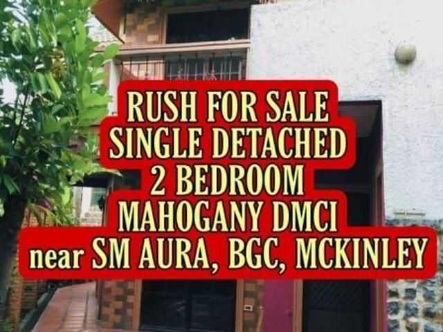 2 Bedroom House And Lot For Sale In Taguig Near Bgc Mckinley Acacia Estate