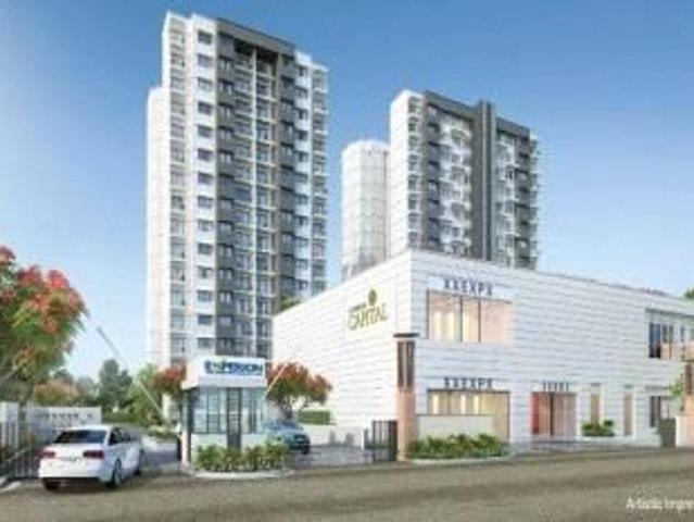 2 Bhk 1415 Sq Ft Apartment In Experion Capital, Gomti Nagar, Lucknow