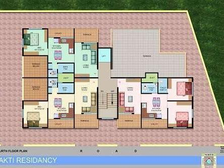 2 Bhk Flat Available For Sale In Jalgaon