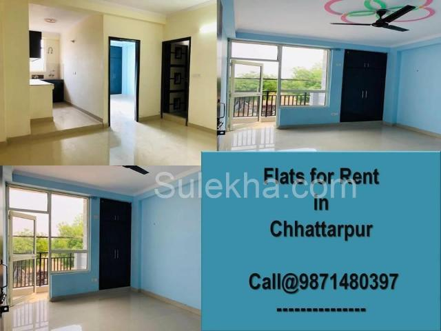 2 Bhk Independent House For Rent At Grab House In Chhatarpur