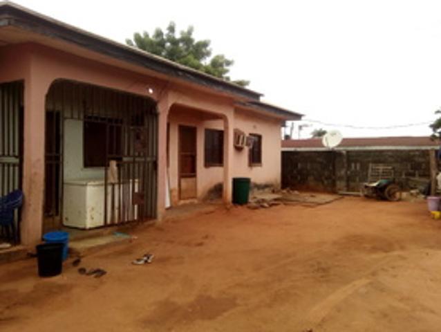 2 Flats Of 3 Bedroom Bungalow At Asaba