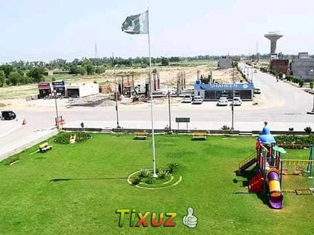 2 Marla Commercial Plot For Sale On Easy Monthly Installments