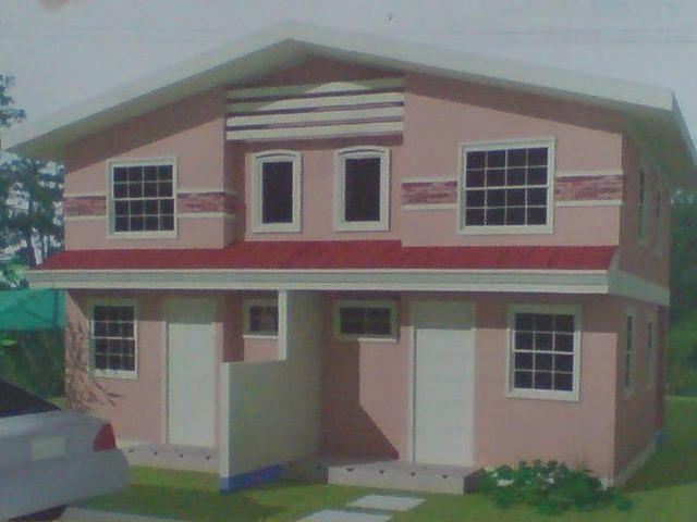 2 Storey Duplex House In Magliman, City Of San Fdo P895t