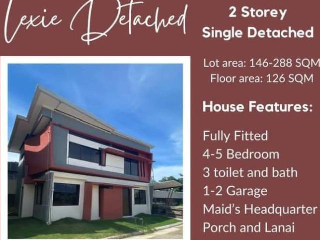 2 Storey Single Detached For Sale 4 Br & For Construction House & Lot For Sale In Liloan, ...