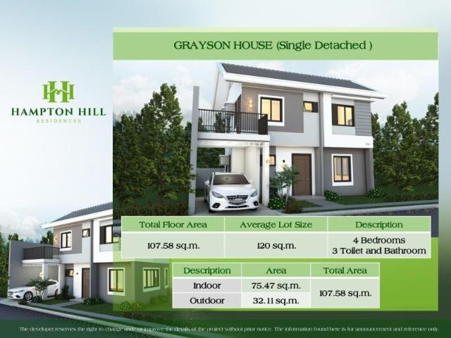 2 Storey Single House With 4 Bedroom Indulge In The Scenic Beauty Of One Of Consolacion's ...