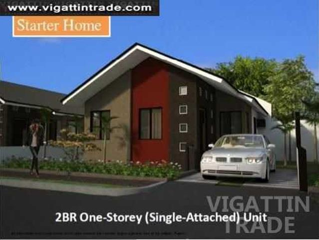 2br One Storey Single Attached Unit