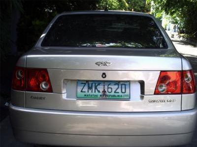 300000 00 php 2007 chery cowin 1 6 for sale