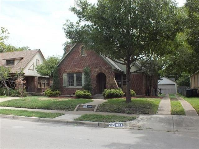 3241 Cockrell Ave, Fort Worth, Tx 76109