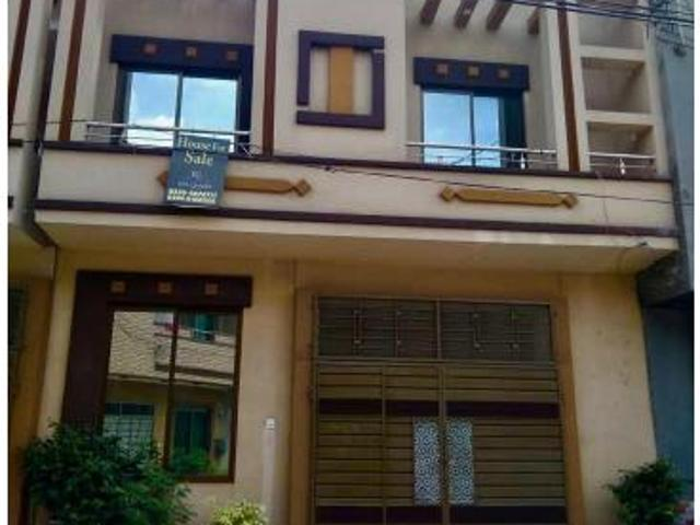3/5marla New Build A House For Sale In Alhafiz Town Marghzar Lahore Owner Call Us Please