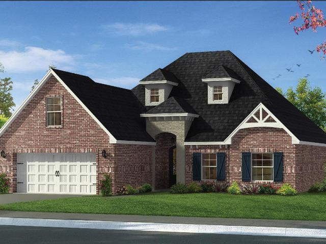 3 Bed, 2 Bath New Home Plan In Biloxi, Ms
