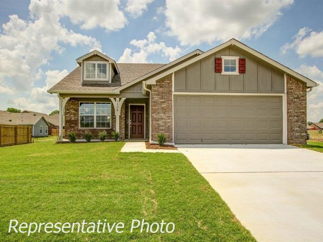 3 Bed, 2 Bath New Home Plan In Bixby, Ok