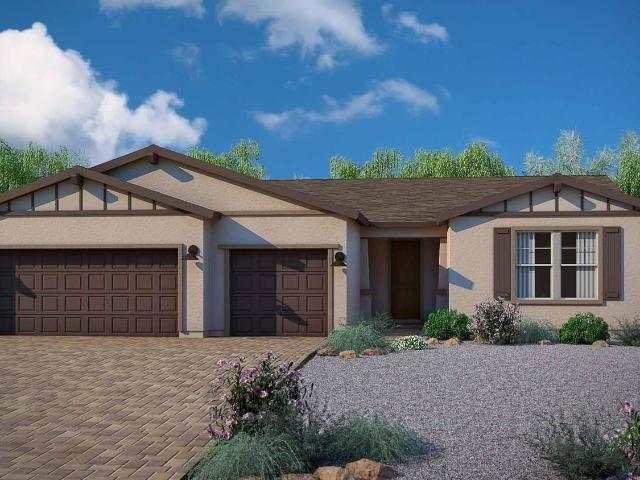 3 Bed, 2 Bath New Home Plan In Clarkdale, Az