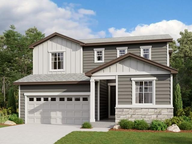 3 Bed, 2 Bath New Home Plan In Commerce City, Co