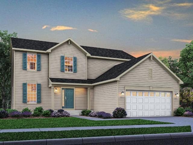 3 Bed, 2 Bath New Home Plan In Crown Point, In