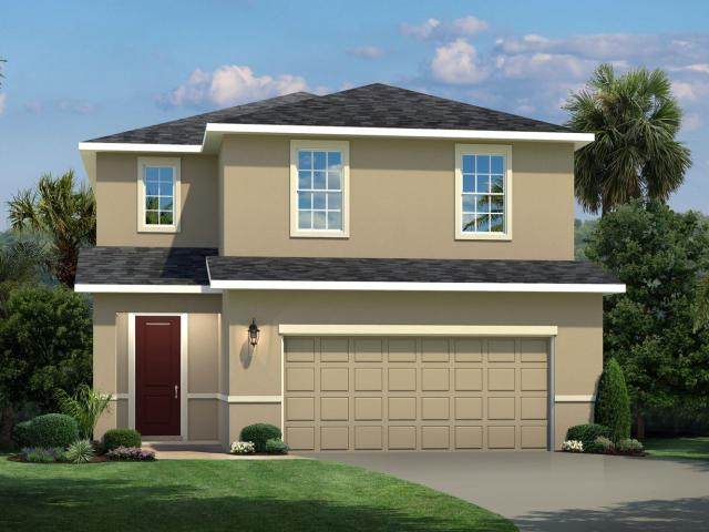 3 Bed, 2 Bath New Home Plan In Davenport, Fl