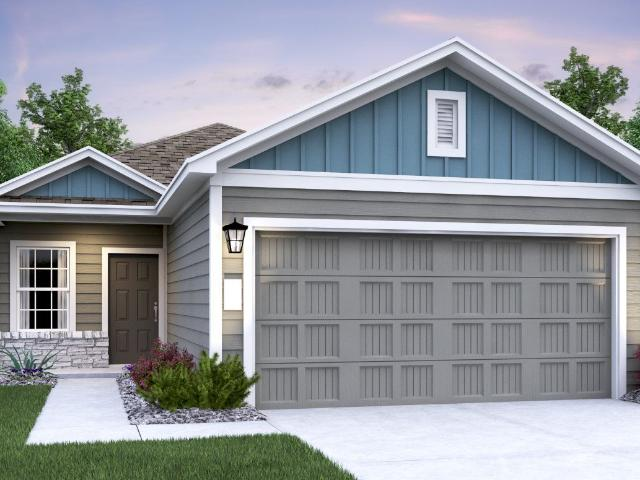 3 Bed, 2 Bath New Home Plan In Del Valle, Tx