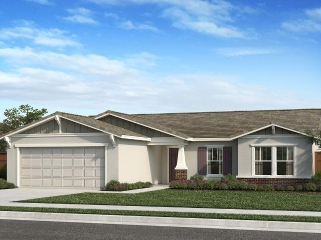 3 Bed, 2 Bath New Home Plan In Fresno, Ca