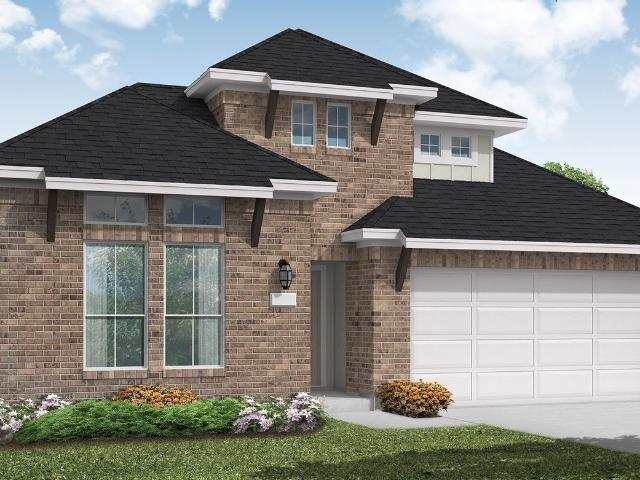 3 Bed, 2 Bath New Home Plan In Liberty Hill, Tx
