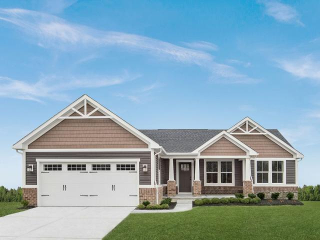 3 Bed, 2 Bath New Home Plan In Liberty Township, Oh