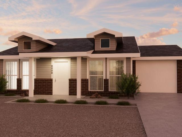 3 Bed, 2 Bath New Home Plan In Lubbock, Tx