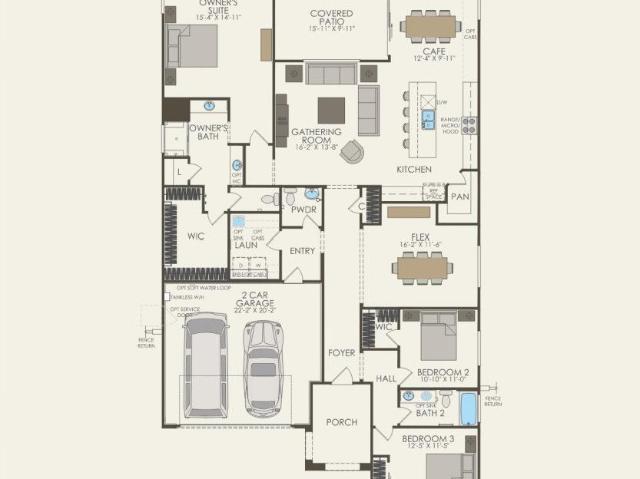 3 Bed, 2 Bath New Home Plan In Menifee, Ca