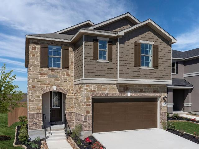 3 Bed, 2 Bath New Home Plan In New Braunfels, Tx