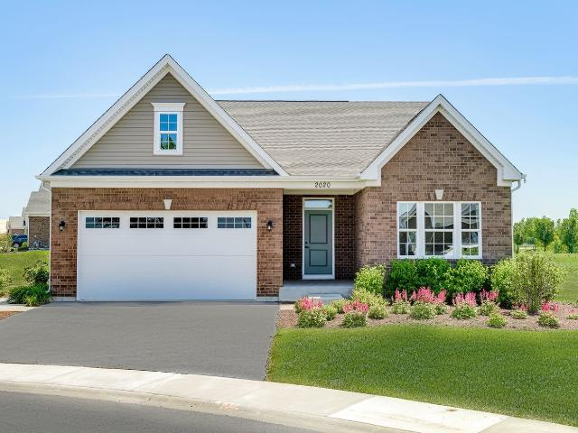 3 Bed, 2 Bath New Home Plan In New Lenox, Il