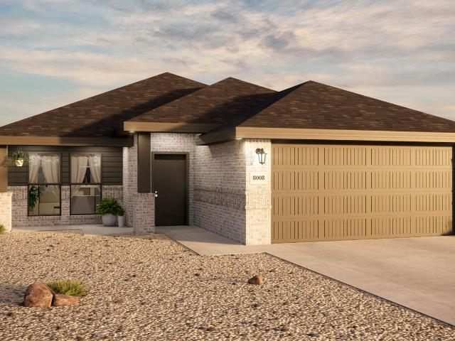 3 Bed, 2 Bath New Home Plan In Odessa, Tx