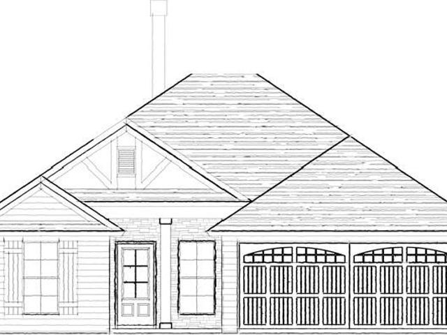 3 Bed, 2 Bath New Home Plan In Pike Road, Al