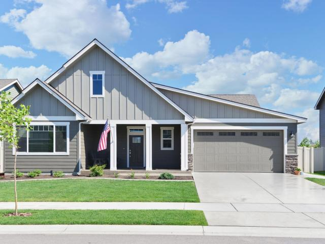 3 Bed, 2 Bath New Home Plan In Post Falls, Id